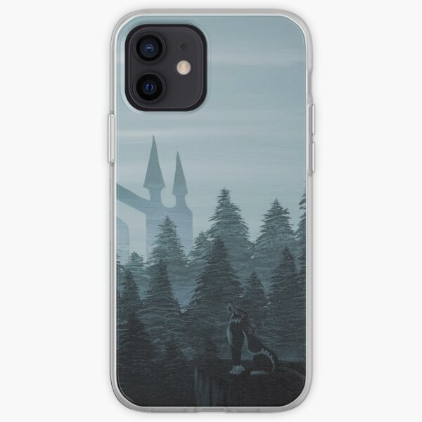 Misty Castle iPhone Soft Case