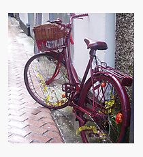 Irish Bicycle Photographic Print