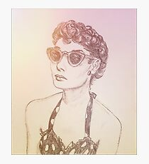 Audrey Photographic Print