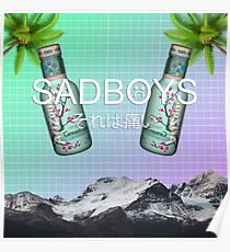 SADBOYS - YUNG LEAN - AESTHETIC  Poster
