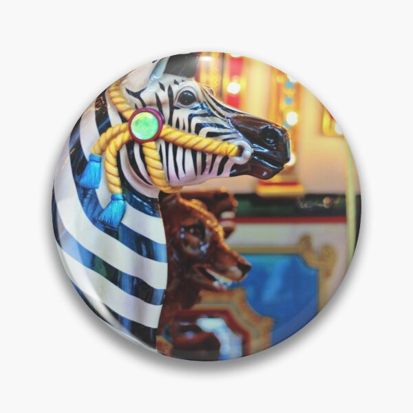 Carousel Zebra  Pin