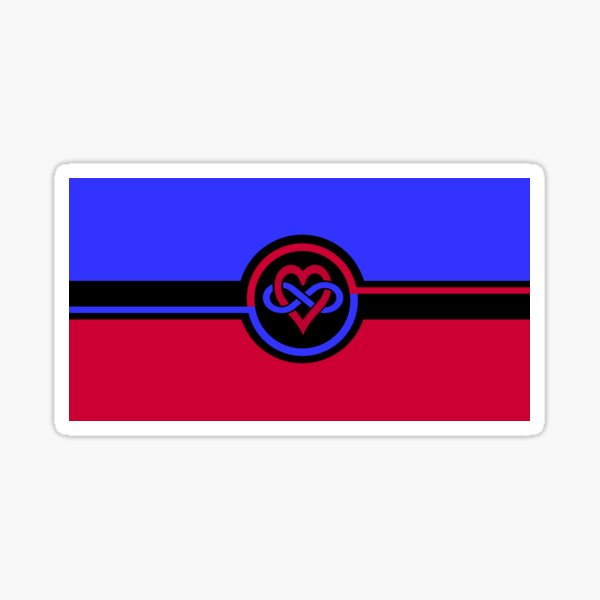 Polyamory Flag Sticker
