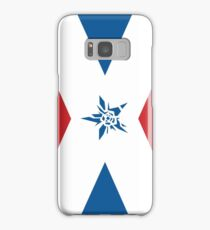 No More Heroes Santa Destroy Flag Samsung Galaxy Case/Skin