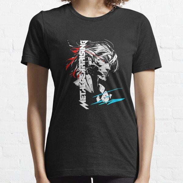 Metal Gear Rising Revengeance Slice XL BLANC Homme T Shirt Nouveau Officiel