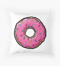Donuts. Throw Pillow