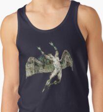 Camiseta de tirantes ICARUS LANZA LOS CUERNOS - grunge antiguo * diseños impresionantes SIN LISTA en mi cartera *