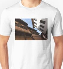 Sun and Shade - Elegant Revival Houses in Old Town Plovdiv, Bulgaria T-Shirt