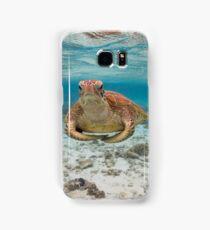 Turtle yoga Samsung Galaxy Case/Skin