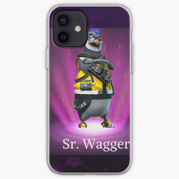 sr. wagger free fire Funda blanda para iPhone