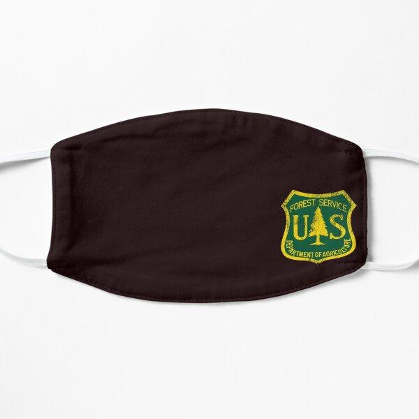 U.S. Forest Service Logo (Grunge Style) Flat Mask