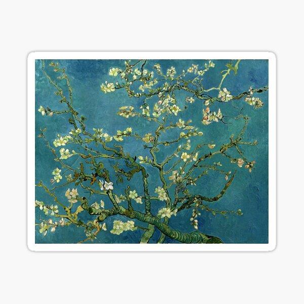 Van Gogh Mandelblüten Sticker