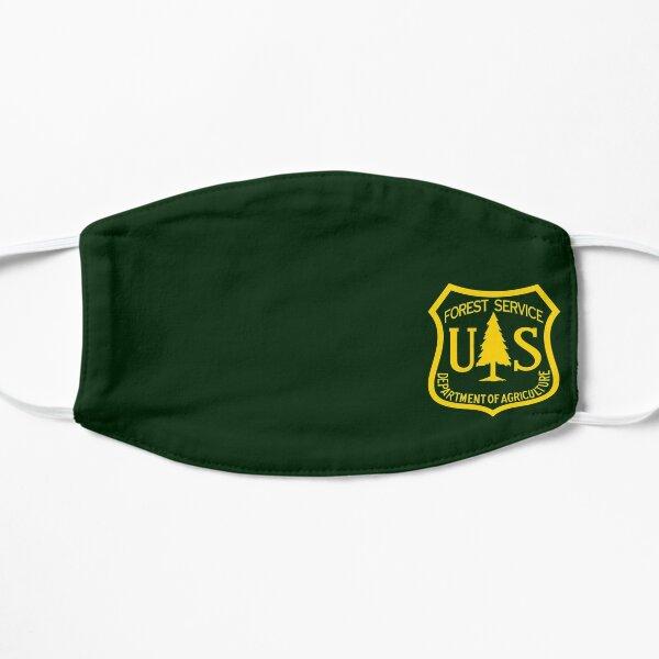 U.S. Forest Service Logo (Yellow/Transparent) Flat Mask