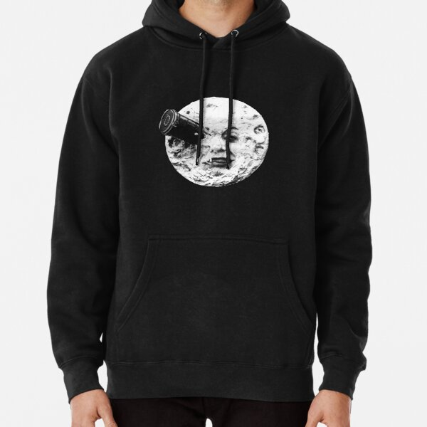 A Trip to the Moon (Le Voyage Dans La Lune) - face only Pullover Hoodie