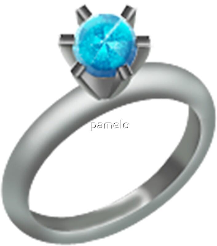 Emoji Diamond Ring\