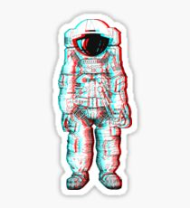 3D Astronaut  Sticker