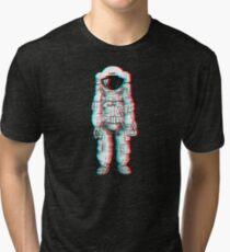 3D Astronaut  Tri-blend T-Shirt