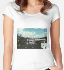 From Queens to Manhattan Women's Fitted Scoop T-Shirt