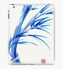 """Wind""  blue sumi-e ink wash painting iPad Case/Skin"