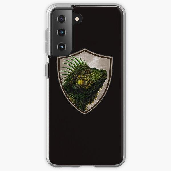 Drawing iguana Samsung Galaxy Soft Case