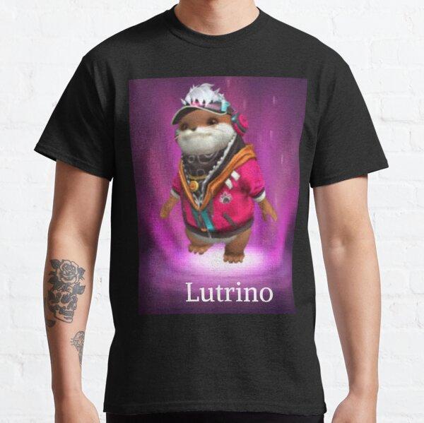 mascota Lutrino free fire Camiseta clásica