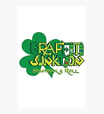 Graffiti Junktion (St. Patrick's Day Edition) Photographic Print