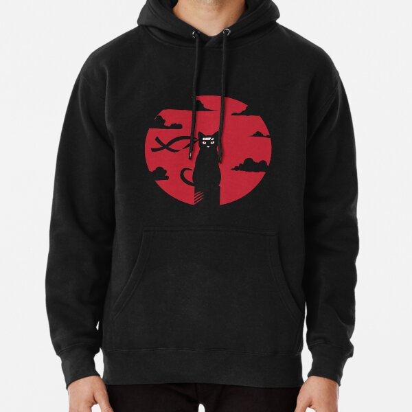 Ninja Katze Rotmond Massaker Shirt Hoodie