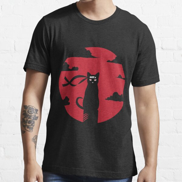 Ninja cat redmoon massacre shirt Essential T-Shirt