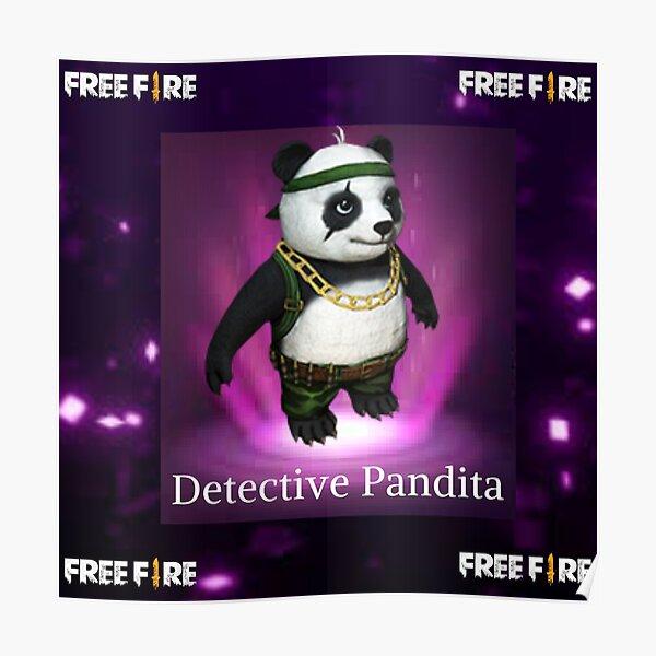 Detective Pandita free fire Póster