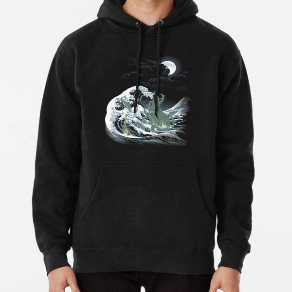 The Wave Off  R'lyeh  Pullover Hoodie