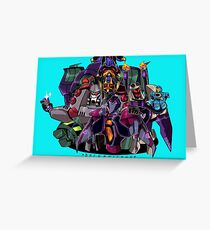 Decepticons Greeting Card