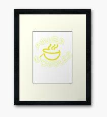power noodles Framed Print