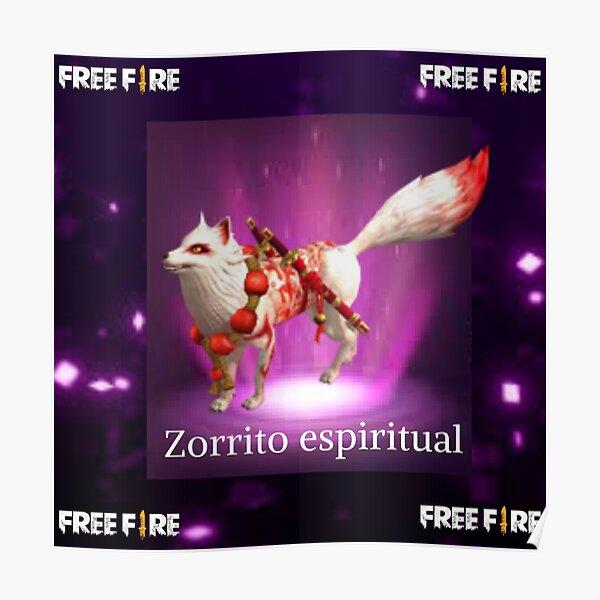 zorrito espiritual free fire Póster