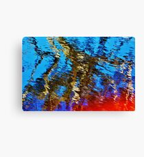 Abstract reflection Canvas Print