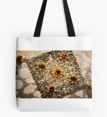 Queens Garnet & Silver Tote Bag