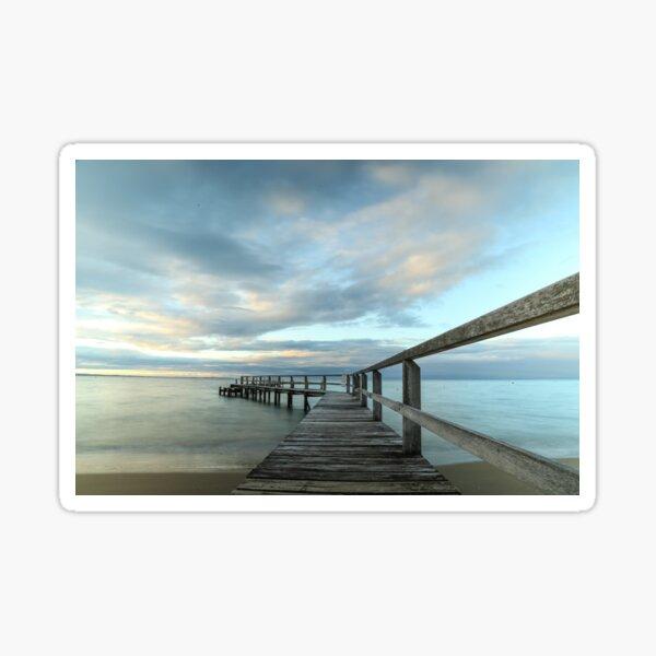 Shelley Beach, Portsea - Blue Sticker
