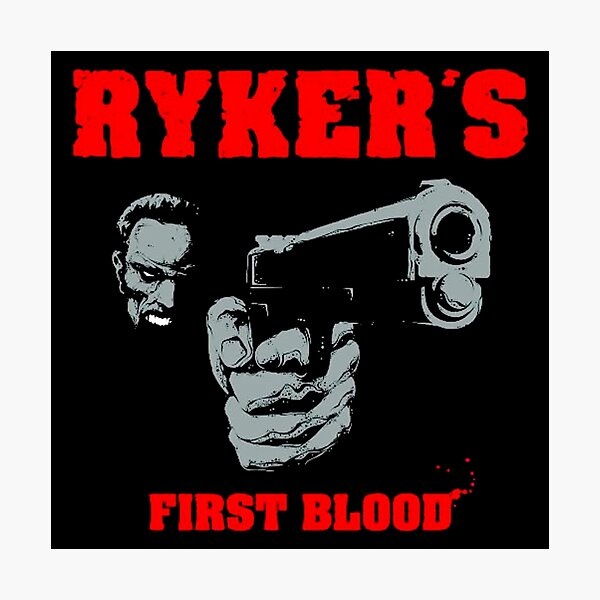 Rykers to the Blood Photographic Print