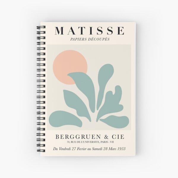 Matisse art work tote bag Spiral Notebook