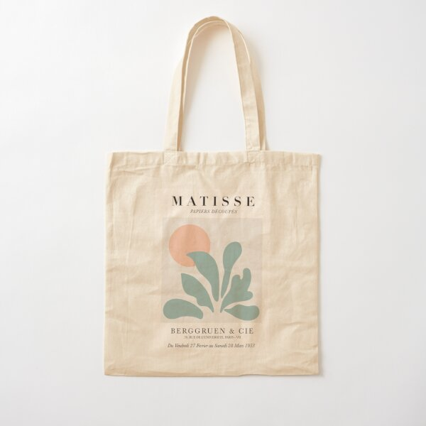 Matisse art work tote bag Cotton Tote Bag