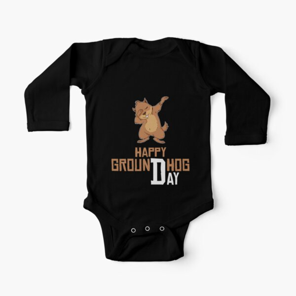 Groundhog Day Funny Baby Short Sleeve Bodysuits Cotton Toddler BABYQIN Do I Look Like A Meteorologist
