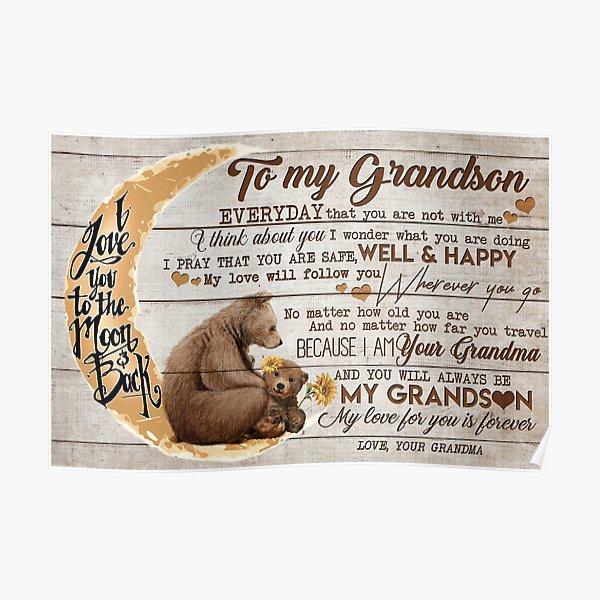 Lleva a tu abuela a tu nieto-Oro para que estés a salvo-Bien y feliz Póster
