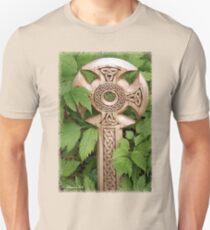 A Celtic Cross for St Patrick's Day Unisex T-Shirt