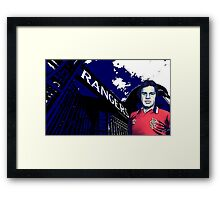 The Gates to Blue Heaven Framed Print