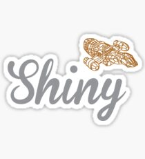 Shiny Serenity Sticker