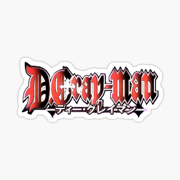 D.Gray-Man Logo Sticker