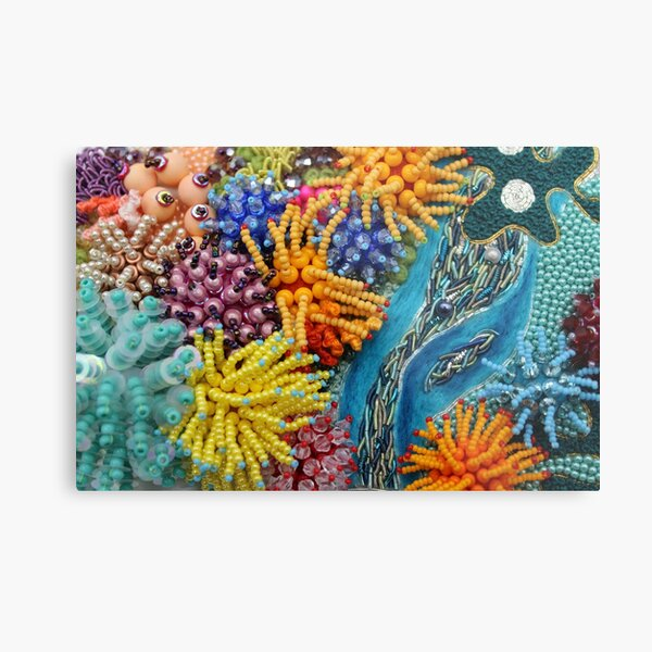 Coral Island Metal Print