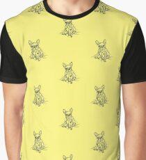 Yellow French Graphic T-Shirt