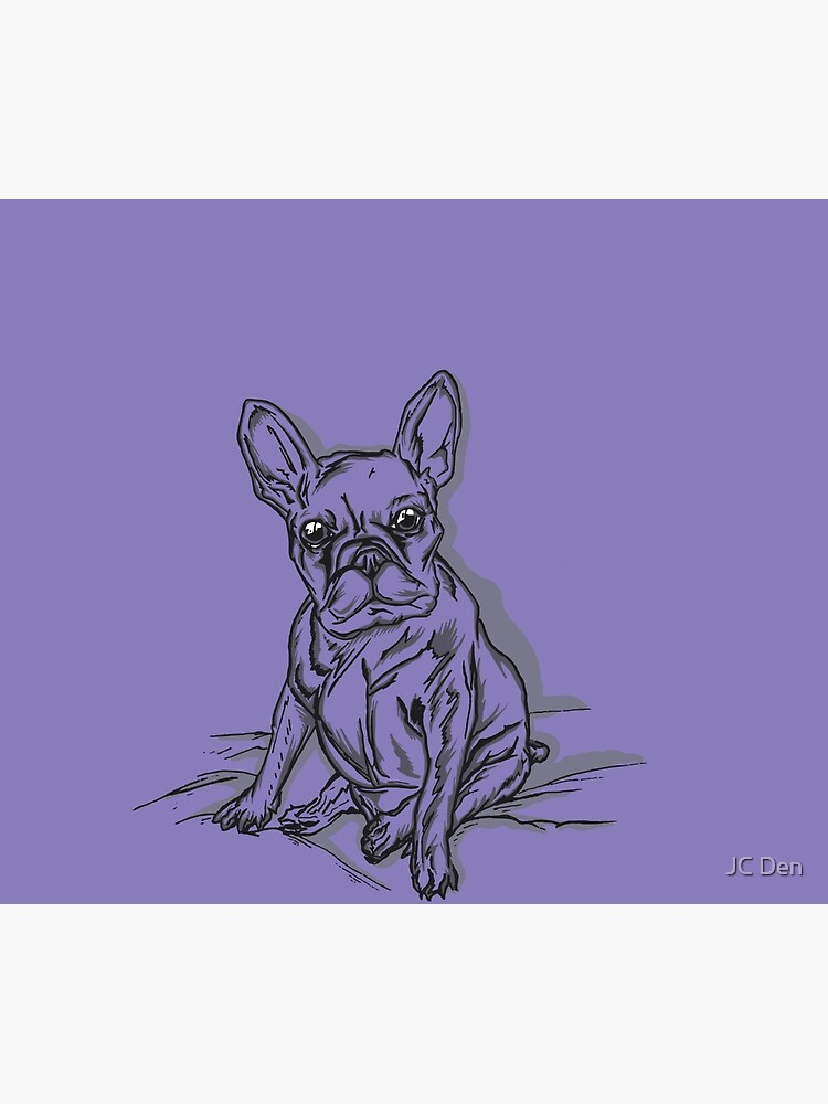 Purple Frenchie by jondenby