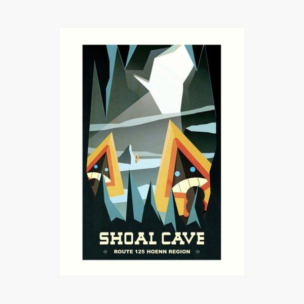 Shoal Cave Art Print