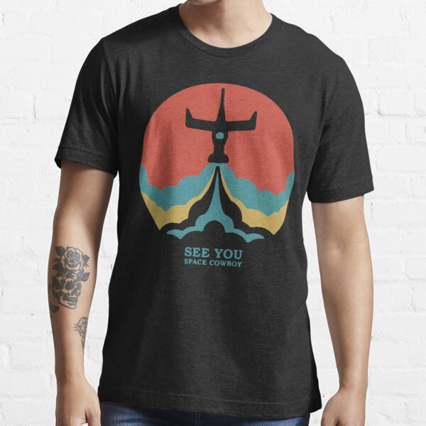 Cowboy Bebop Retro Vintage Essential T-Shirt