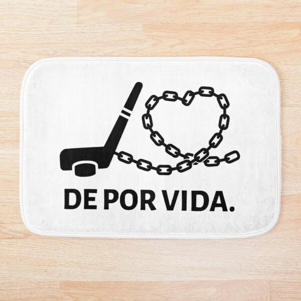 Ice Hockey - Life Sentence (Spanish) Bath Mat